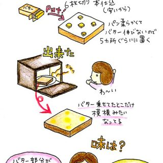 3/14、第一次バタートースト革命