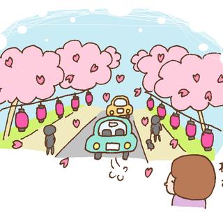桜を味わう