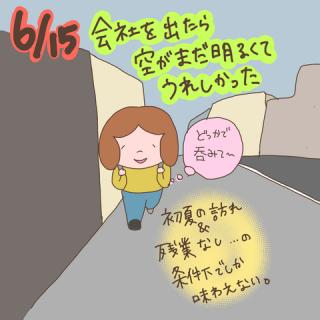 twitter絵日記1週間まとめ