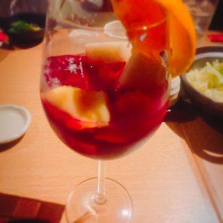 フルーツたっぷり芳醇サングリア@新宿KOYOI