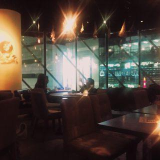 渋谷の夜カフェ #802