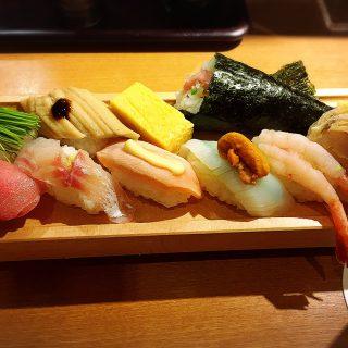 華金の豪遊はお寿司でしょ